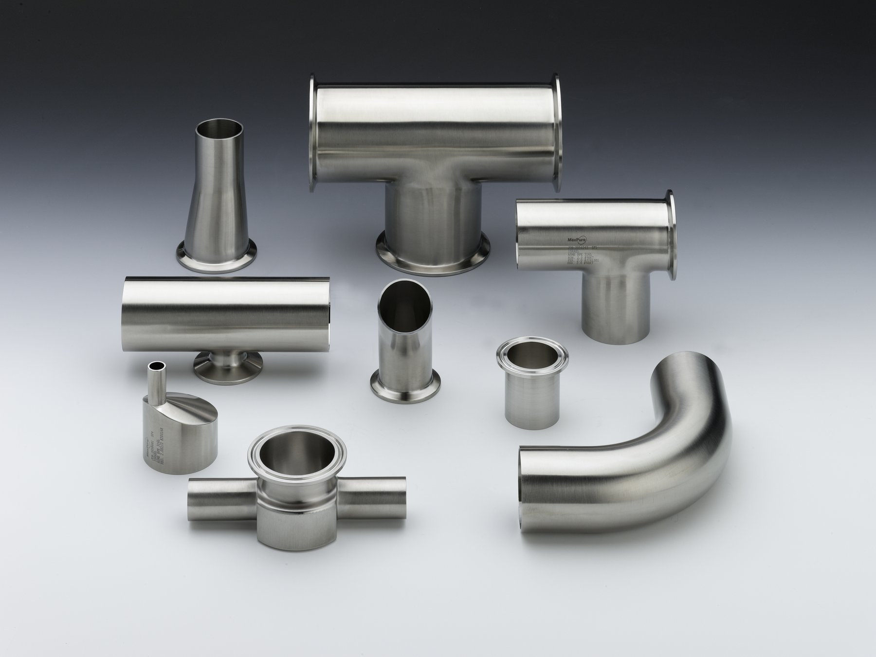 VNE Fittings, Valves and Tubing